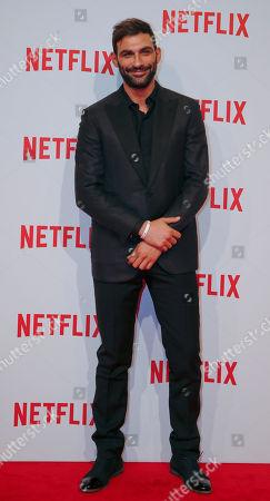 Actor Francesco Arca attends the presentation of Netflix on-demand internet streaming media provider, in Milan, Italy