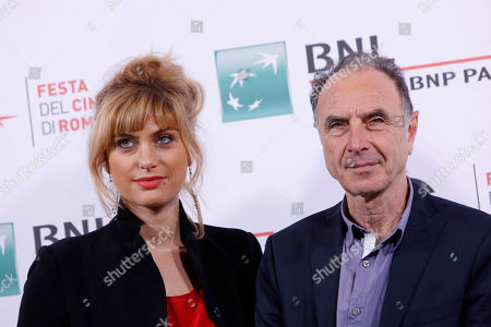 Mathilde Bisson Yves Angelo Director Yves Angelo, right, poses for photographers with actress Mathilde Bisson during the photo call of his movie Au Plus Pres Du Soleil at Rome's Film Festival, in Rome