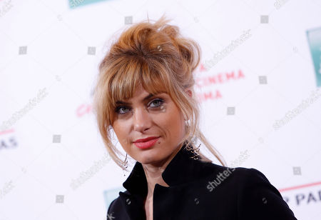 Mathilde Bisson Actress Mathilde Bisson poses for photographers during the photo call of the movie Au Plus Pres Du Soleil at Rome's Film Festival, in Rome