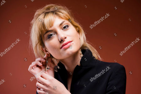 Mathilde Bisson Actress Mathilde Bisson poses for portraits for the movie Au Plus Pres Du Soleil at the Rome Film Festival in Rome