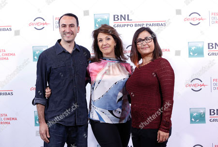 Joey Carey Janet Grillo Jennifer Deaton Director Janet Grillo, center, poses for photographers with producer Joey Carey, left, and screenwriter Jennifer Deaton, during the photo call of her movie Jack of the Red Hearts, at Rome's Film Festival, in Rome