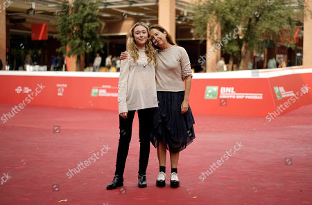 India Ennenga Laurie Weltz Actress India Ennenga, left, and director Laurie Weltz pose for photos during the photo call of the movie Scout, at Rome's Film Festival, in Rome