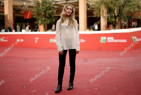 India Ennenga Actress India Ennenga poses for photos during the photo call of the movie Scout, at Rome's Film Festival, in Rome