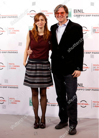 Marta Gila Alvaro Longoria Director Alvaro Longoria, right, poses for photographers with producer Marta Gila during the photo call of his movie The Propaganda Game, at Rome's Film Festival, in Rome