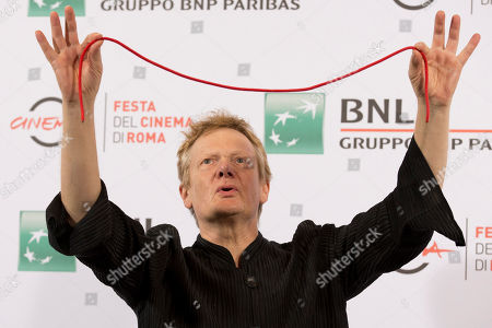 Philippe Petit Tight-rope walker Philippe Petit poses for photographers during the photo call of the movie The Walk 3D, at Rome's Film Festival, in Rome