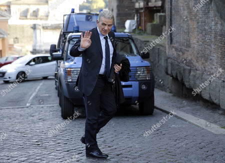 Rome's municipality councilor and anti-corruption commissioner Alfonso Sabella arrives at Rome's Campidoglio Capitol Hill to present his resignation, . Rome's mayor has announced that he isn't resigning after all, but his anti-corruption commissioner and deputy mayor quit after Ignazio Marino announced his about-face