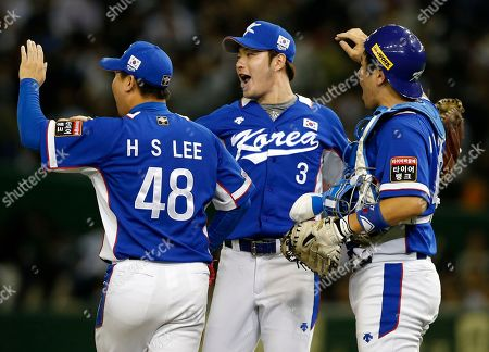 Editorial image of Japan Baseball Premier12, Tokyo, Japan