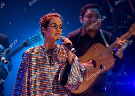 Ximena Sarinana Mexican singer-songwriter Ximena Sarinana performs at the Fenix Iberoamerican Film Awards at the Esperanza Iris Theater in Mexico City