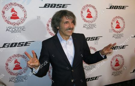 Argentine-born musician Diego Verdaguer poses for photos on the red carpet at the Latin Grammy Acoustic Session in Mexico City, late . The acoustic sessions, organized by the Latin Recording Academy, are held in various cities prior to the Latin Grammys, this year set for Nov. 19 in Las Vegas