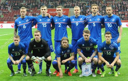 Editorial picture of Poland Iceland Soccer, Warsaw, Poland