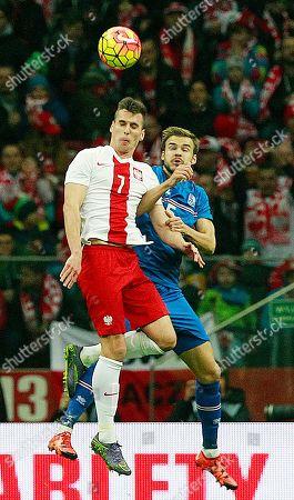 Editorial photo of Poland Iceland Soccer, Warsaw, Poland