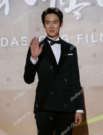 Yoo Yeon-seok South Korean actor Yoo Yeon-seok poses for a photo call during the Daejong Film Awards in Seoul, South Korea
