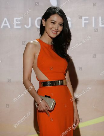 Gao Yuanyuan Chinese actress Gao Yuanyuan poses for a photo call during the Daejong Film Awards in Seoul, South Korea