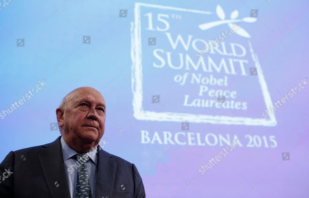Editorial image of Spain World Summit of Nobel Peace Laureates, Barcelona, Spain