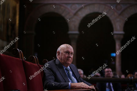 Frederik Willem de Klerk Former South African president and Nobel Peace prize laurate Frederik Willem (FW) de Klerk attends during the opening ceremony of the XV World Summit of Nobel Peace Laureates at the University in Barcelona, Spain