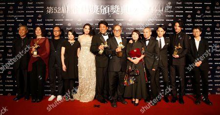 Editorial picture of Taiwan Golden Horse Awards, Taipei, Taiwan
