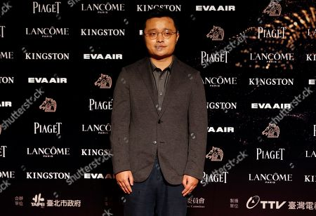 """Bi-Gan Chinese director Bi-Gan arrives at the 52nd Golden Horse Awards in Taipei, Taiwan, . Bi-Gan is nominated as Best New Director for the film """"Kaili Blues"""" at this year's Golden Horse Awards, one of the Chinese-language film industry's biggest annual events"""