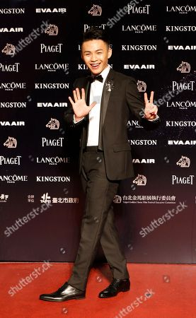 "Lee Hong-Chi Taiwanese actor Lee Hong-Chi arrives at the 52nd Golden Horse Awards in Taipei, Taiwan, . Lee is nominated as the best leading actor and Best New Performer for the film ""Thanatos, Drunk"" at this year's Golden Horse Awards, one of the Chinese-language film industry's biggest annual events"