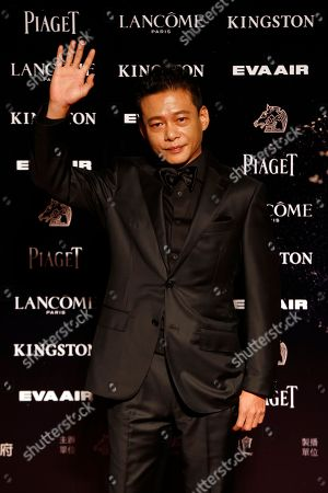 Lee Kang-sheng Taiwanese actor Lee Kang-sheng poses on the red carpet at the 52nd Golden Horse Awards in Taipei, Taiwan, . Lee is a guest at this year's Golden Horse Awards, one of the Chinese-language film industry's biggest annual events