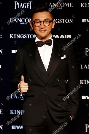 """Stock Photo of Alec Su Taiwanese director and actor Alec Su arrives at the 52nd Golden Horse Awards in Taipei, Taiwan, . Su is nominated as Best New Director for the film """"The Left Ear"""" at this year's Golden Horse Awards, one of the Chinese-language film industry's biggest annual events"""