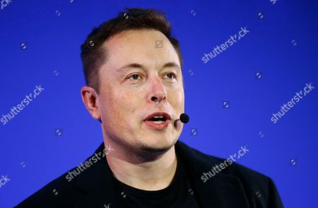 Editorial picture of Tesla SolarCity Murky Deal, Paris, France