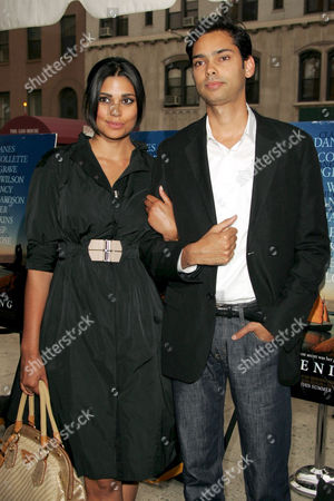 Rachel Roy and brother Raj
