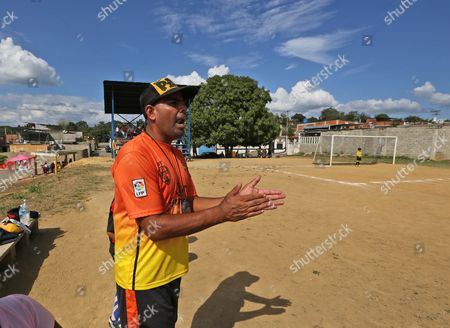 Carlos Leon Carlos Leon gives instructions to his players during a soccer game in Santa Teresa, Venezuela. Leon left the ruling party after writing a rap song protesting the difficult situation facing everyday Venezuelans. He says he was shunned by fellow party members after writing the song