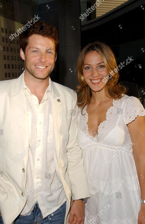 Jamie Bamber and Kerry Norton