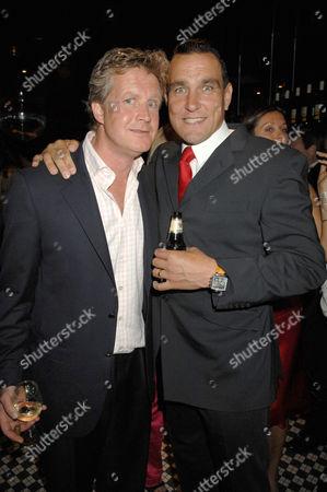Guy Sangster and Vinnie Jones