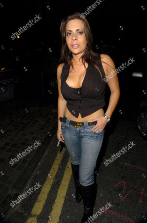 Stock Picture of Linsey Dawn Mckenzie arrived too late and was not let in