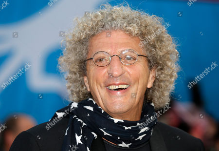 French film director Elie Chouraqui arrives at the 41st American Film Festival, in Deauville, Normandy, Western France