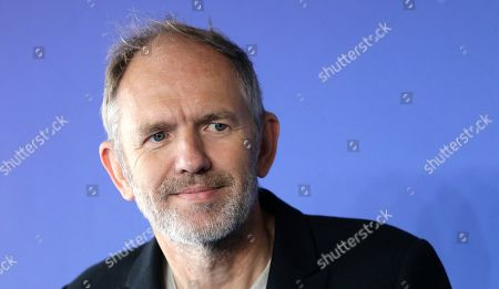 Stock Image of Dutch director Anton Corbjn poses during a photocall for his film Life at the 41st American Film Festival, in Deauville, Normandy, Western France