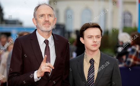 Stock Photo of Dutch director Anton Corbjn, left, and US actor Dane DeHaaan arrive for the screening of their film Life at the 41st American Film Festival, Saturday, Sept. 5, 2015, in Deauville, Normandy, western France