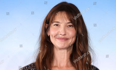 Actress Alexia Landeau poses during a photocall for her film Day Out of Days, at the 41st American Film Festival, in Deauville, Normandy, western France