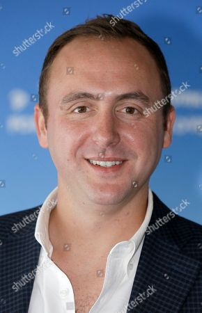 Producer Nicolas Gonda poses during a photocall at the 41st American Film Festival, in Deauville, Normandy, western France