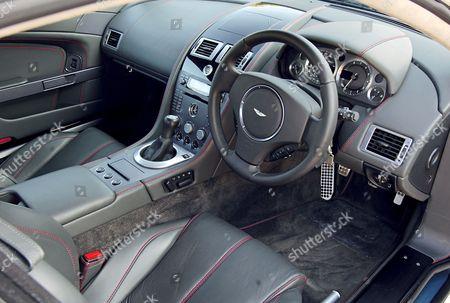 Interior Aston Martin V8 Vantage Editorial Stock Photo Stock Image Shutterstock