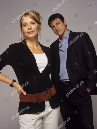 Glynis Barber and Dominic Rickhards in 'Night and Day' - 2001