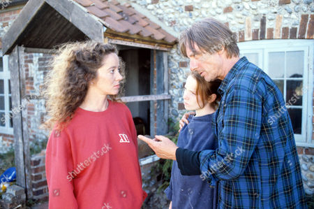 Stock Picture of L-R  Suzan Crowley ,Lisa Taylor and Tom Georgeson in 'Devices And Desires' - 1991
