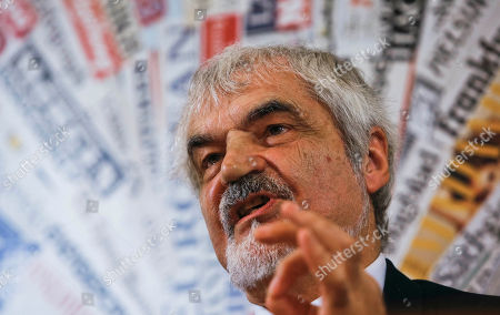Serge Latouche Economist Serge Latouche speaks during a press conference at the Foreign Press Association in Rome