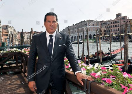 Stock Picture of Joe Tacopina poses for photographers in Venice, Italy, . New York lawyer Joe Tacopina leads a group of investors who have purchased Venice's fourth-division soccer club. Tacopina and fellow American investors John Goldman and John Tapinis announced the purchase of Venezia FC in the lagoon city Friday
