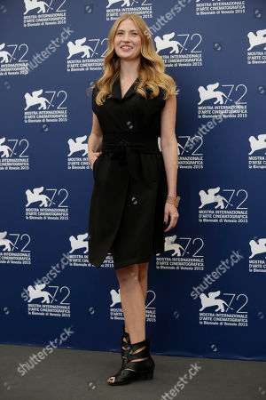 Paulina Chapko Actress Paulina Chapko poses for the photo call of the movie 11 Minutes, at the 72nd edition of the Venice Film Festival in Venice, Italy, . The 72nd edition of the festival runs until Sept. 12