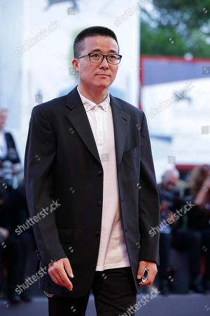 Stock Photo of Zhao Liang Director Zhao Liang arrives to attend the awards ceremony of the 72nd edition of the Venice Film Festival in Venice, Italy