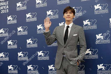 Li Yifeng Actor Li Yifeng poses during the photo call for the movie Lao Pao Er (Mr. Six) at the 72nd edition of the Venice Film Festival in Venice, Italy