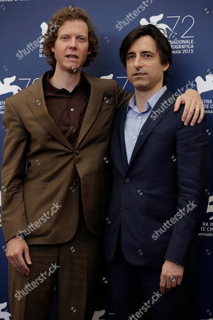 Jake Paltrow, Noah Baumbach From left, directors Jake Paltrow, and Noah Baumbach attend the photo call for the film De Palma and the Glory To The Filmmaker Award 2015 at the 72nd edition of the Venice Film Festival in Venice, Italy, . The 72nd edition of the festival runs until Sept. 12