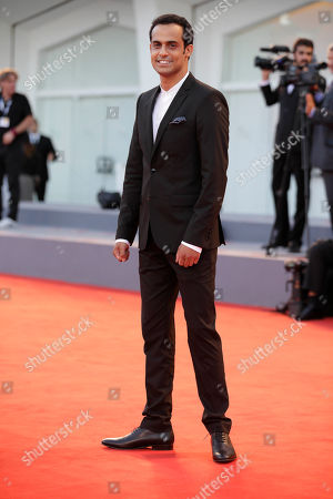Stock Image of Yogev Yefet Actor Yogev Yefet arrives for the film 'Rabin, the last day' at the 72nd edition of the Venice Film Festival in Venice, Italy