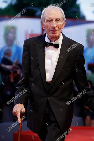 Stock Image of Heinz Lieven Actor Heinz Lieven poses for photographers upon arrival for the screening of the movie Remember, at the 72nd edition of the Venice Film Festival in Venice, Italy, . The 72nd edition of the festival runs until Sept. 12
