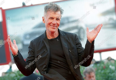 Michael Cunningham Author Michael Cunningham poses on the red carpet of the movie Remember, at the 72nd edition of the Venice Film Festival in Venice, Italy, . The 72nd edition of the festival runs until Sept. 12