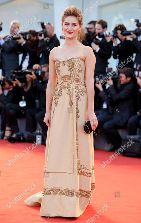 Lydia Liberman Actress Lidiya Liberman poses during the red carpet of the movie Sangue Del Mio Sangue (Blood of my Blood), at the 72nd edition of the Venice Film Festival in Venice, Italy, . The 72nd edition of the festival runs until Sept. 12
