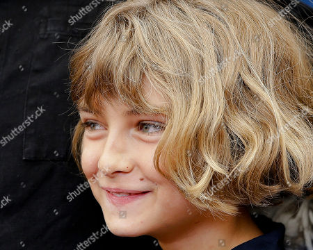 Tom Sweet Young actor Tom Sweet poses during the photo call for the movie The Childhood of a Leader at the 72nd edition of the Venice Film Festival in Venice, Italy, . The 72nd edition of the festival runs until Sept. 12
