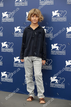 Editorial photo of Italy Venice FF The Childhood of a Leader Photo Call, Venice, Italy